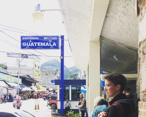 Unser kleines Abenteuer – Grenzüberquerung Guatemala